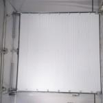 Белые секционные ворота 2